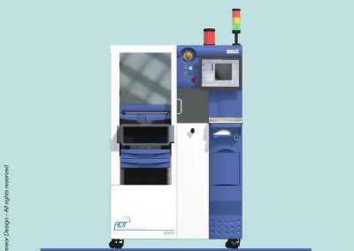 ADT 2005 Dicing-saw Model 8000 Front view