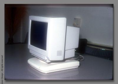 Adacom 1993 terminal base unit mockup