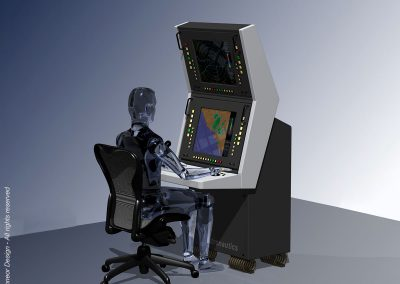 Astronautics 2005 Naval tactical system console station