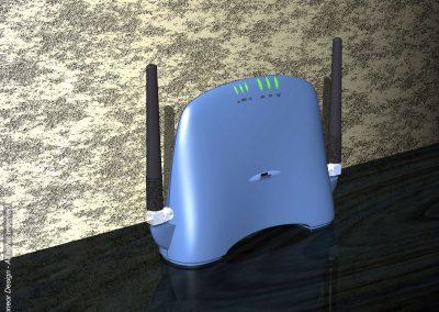 Breezcom 1999 tabletop modem