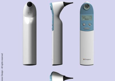 Chameleon 2003 Digital Otoscope. Genral views
