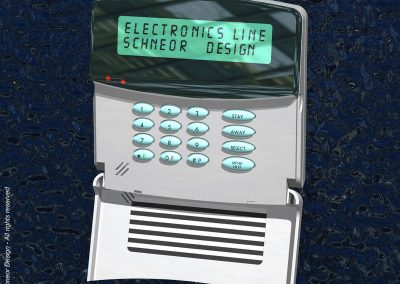 Electronics-Line 1997 Alarm system main controller