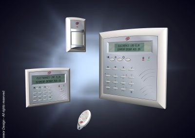 Electronics-Line 2005 Alarm system model 1
