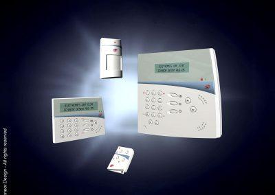 Electronics-Line 2005 Alarm system model 2