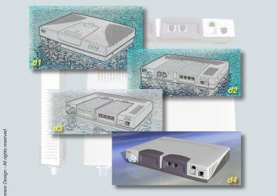 Floware 2000 Broadband system, Model TS1300 various designs
