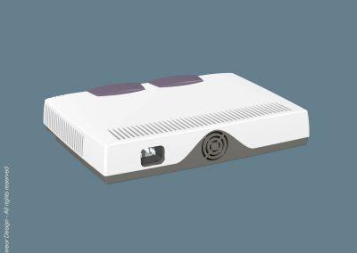 Floware 2000 Broadband system Model TS1300 Rear view