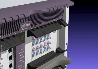 Floware 2001 Broadband Wireless Access (BWA) system Model WALKair 3000, upper part detail