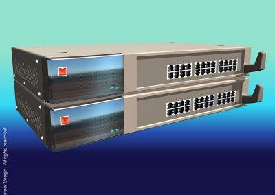 "Lannet 1995 switch, 19"" rack mounted"