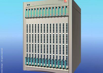 "Lannet 1995 switching hub, 19"" rack mount Model SAL2135"