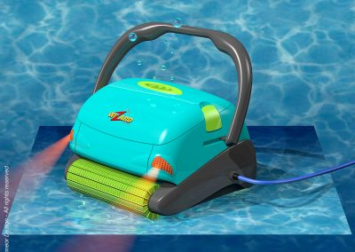 Maytronics 1997 Automatic Pool Cleaning Robot