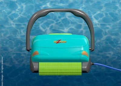 Maytronics 1997 Automatic Pool Cleaning Robot front view