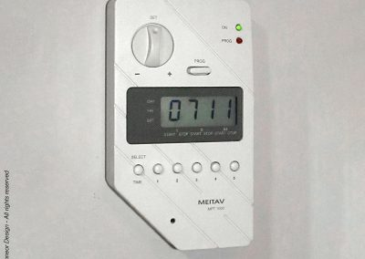 Meitav 1988 AC LCD controller and weekly multi-timer. As of 2018, this successful design still sell