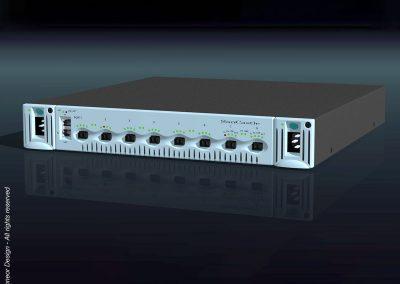 "SanCastle 2000 Global fiber switch, 19"" rack mount Model GFS-8"