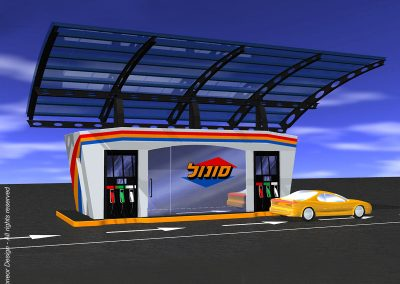 Solor 1996 Transportable gas / fuel station