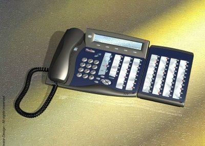 Tadiran-Telecom 1999 Phone system with extension Model Coral FlexSet
