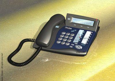 Tadiran-Telecom 1999 small version Phone system Model Coral FlexSet