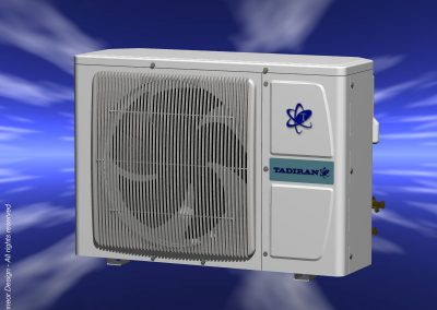 Tadiran 1999 Split Air Conditioner external unit, condenser model 1
