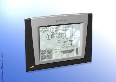 Unitronics 2007 PLC industrial controller Model V-490