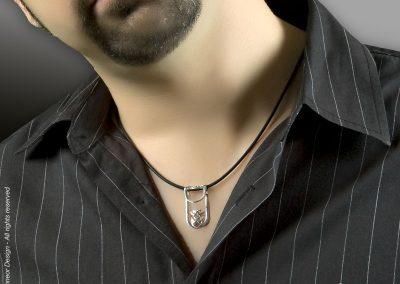 inDpendant 2009 Silver tribal pendant