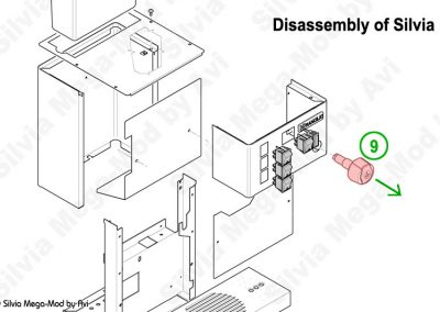 Avi's Silvia Mega-Mod disassembly steam knob