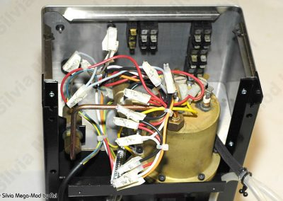 Avi's Silvia Mega-Mod disassembly disconnected