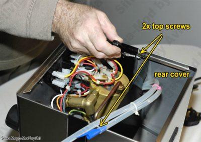 Avi's Silvia Mega-Mod disassembly back cover screws