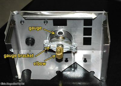 Avi's Silvia Mega-Mod pressure-gauge front cover