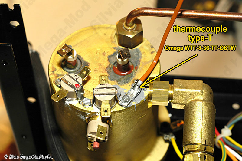rancilio silvia mega mod part 4 brew and steam control schneor