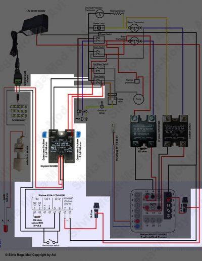 Avi's Silvia Mega-Mod Pre infusion image 01