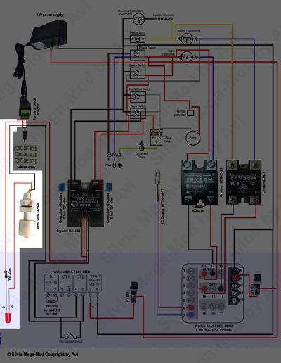 Avi's Silvia Mega-Mod Water Level schematic