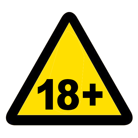 18 plus warning