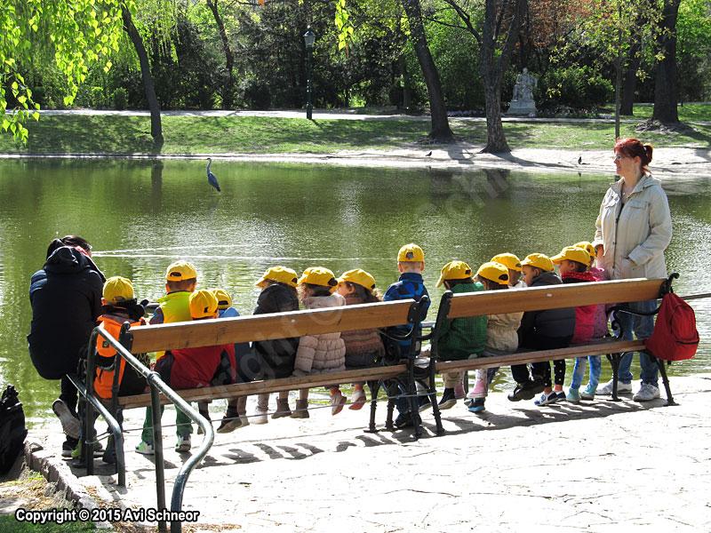 ילדים בטיול בוינה
