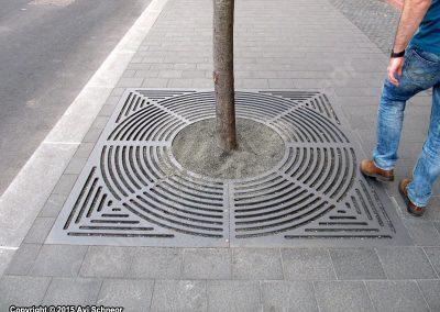סבכה לעץ ברחוב בוינה אוסטריה