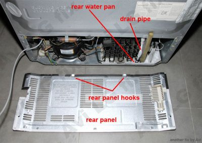 Rear components