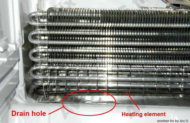 LG-819 refrigerator water leakage repair - Schneor Design