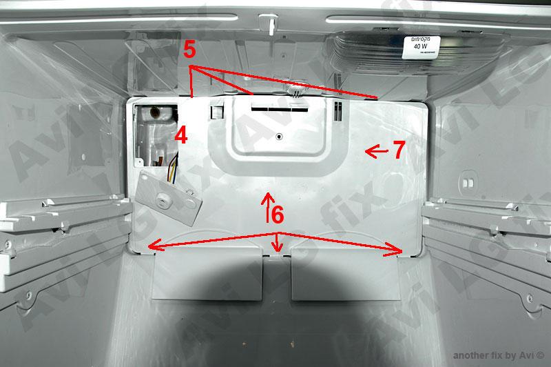 Lg 819 Refrigerator Water Leakage Repair Schneor Design