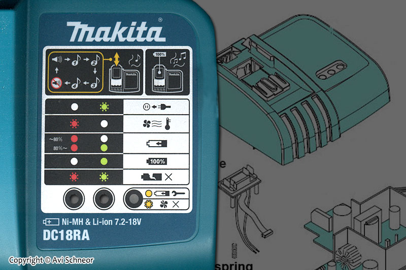 Makita DC18RA featured