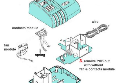 Makita Battery Schematic Diagram on
