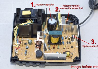 Makita_DC18RA components to replace