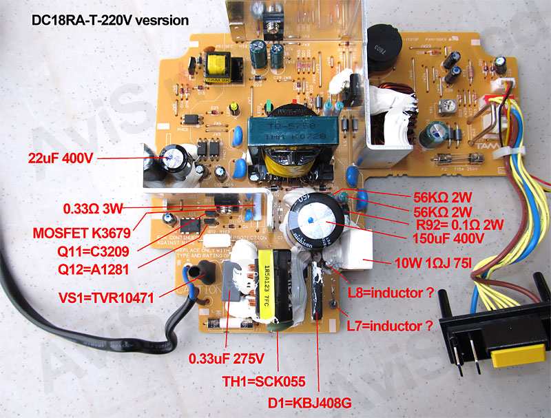 Makita DC18RA charger conversion to 220VAC - Schneor Design