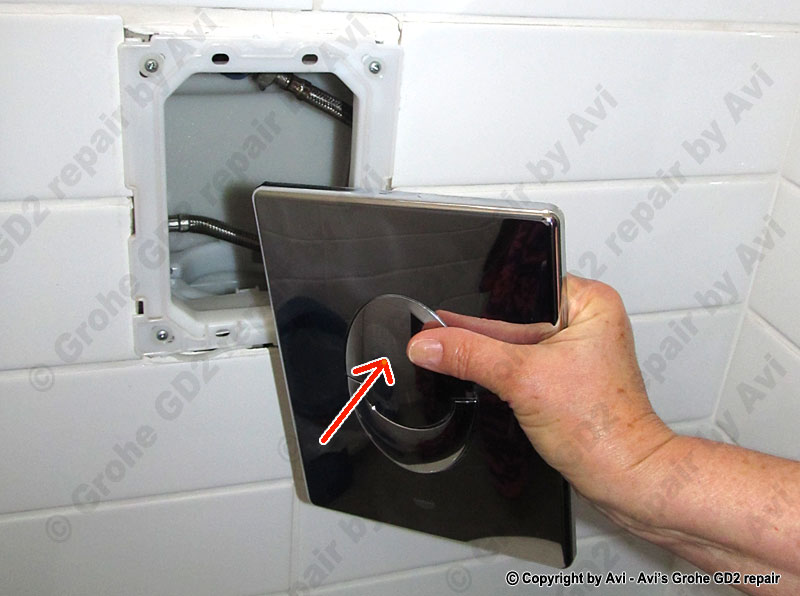Repair Grohe Concealed Cistern Guide By Avi Schneor
