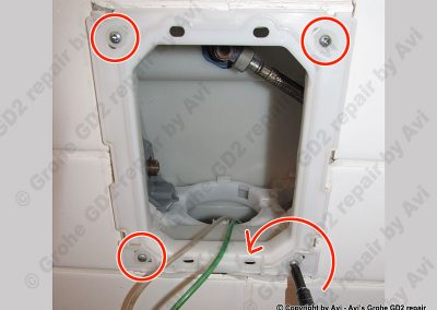 Grohe Frame removal