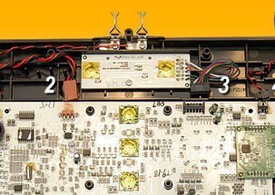 MB rear connectors