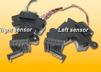 Sensors disassembled