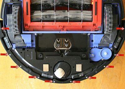 Bumper screws