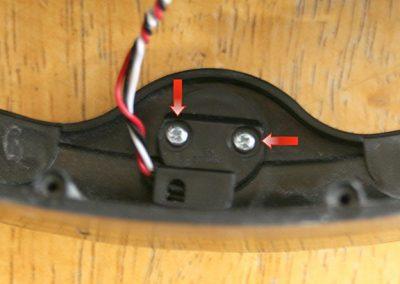 Sensor screws