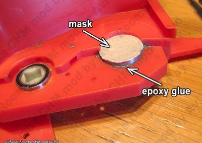 Epoxy fill