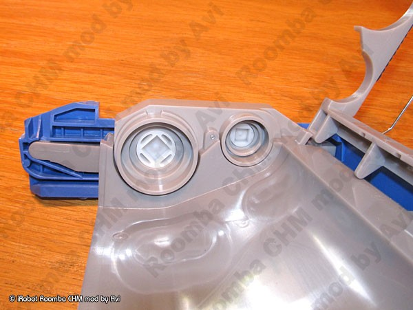 Irobot Roomba 5xx 6xx 7xx Gray Chm Mod Schneor Design