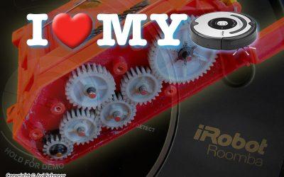 iRobot Roomba 5xx CHM cleaning