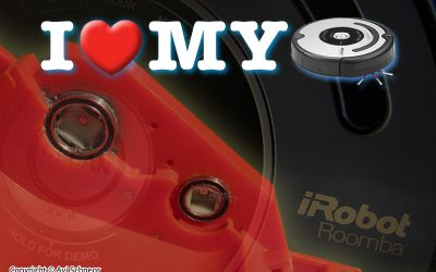iRobot Roomba 5xx/6xx/7xx Red CHM mod